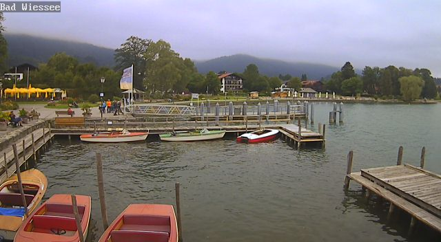 Webcam Bad Wiessee Seeuferpromenade